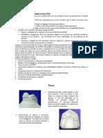 Proceso de Dibujo Del Diseño de Una PPR