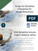 Design for Reliability a Roadmap for Design Robustness