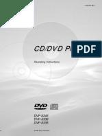 Sony CDDVD Player (Combina)