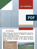 Ley Agraria Exposicion