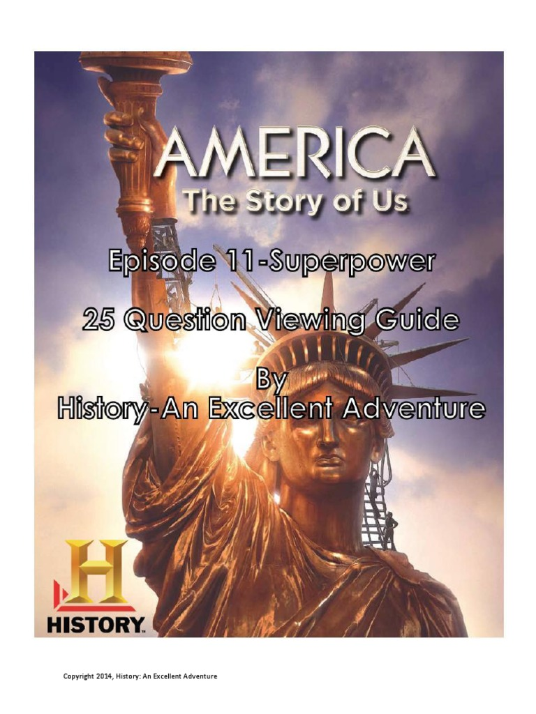 America the Story of Us Episode 11 Superpower Viewing Guide | Nuclear  Energy | The United States