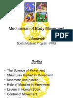 Mechanish of Body Movement