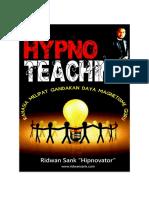 Buku Hypnoteaching Ridwan Sank