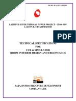 Ccr & Simulator Room Interior Design and Ergonomics