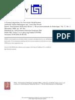 Algoritmo General Para La Estratificacion Univariada- Paul Rivest