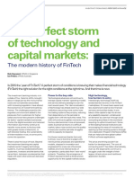 Technology Capital Markets Fintech History Article June 2015