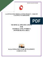 CIVIL WORK POWER BLOCK AREA.pdf