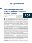 Strengthening humanitarian networks