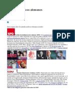 Partidos Políticos Alemanes