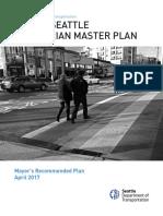 Seattle Pedestrian Master Plan