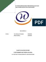 Auditing II Sampling Audit Untuk Pengujian Pengendalian Dan Pengujian Substantif Atas