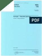 NCh 170-2016 Requisitos Generales