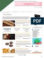Recetas Profesionales de Postres, Pasteles, Bombones