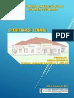Spesifikasi Teknis_rujab Kapolda Ta. 2017