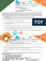 Guía de Actividades y Rúbrica de Evaluación - Paso 3 - Desarrollando Sistemas de Información
