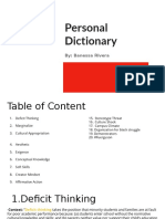 personal dictionary  1
