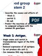 7. Rh Blood Group System 2