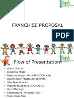 Fanchisee Proposal