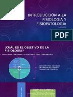 Introducción a La Fisiología y Fisiopatología[1]