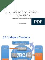Capacitación en Control de Documentos y Registros 2014.pdf