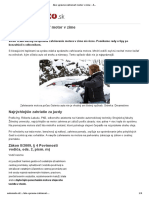 Ako Správne Zahrievať Motor v Zime - AutoMoto