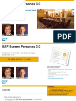04 Practitioners Forum - SAP Screen Personas 3.0