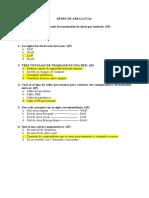 Evaluación Diagnóstica de Redes