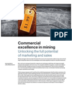 Metals and Mining No7 Commercial Excellence in Mining