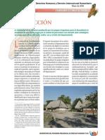 Programa Presidencial de DH y DIH Panoram Del Tolima 2005