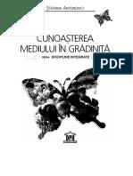 Antonovici Stefania, Cunoasterea Mediului in Gradinita - DPH (2010)