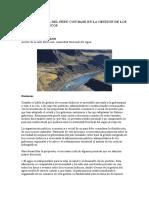 La Gobernanza Del Perú Con Base en La Gestión de Los Recursos Hídricos