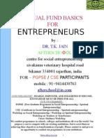 eBook Mutual Fund Basics for Entrepreneurs