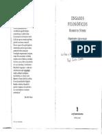 Nunes, Benedito. O fazer filosófico ou oralidade e escrita em filosofia (1)