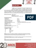 Ficha Tecnica Inox SS304