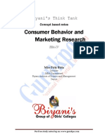 Consumer Behavior (Recovered)