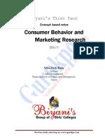 Consumer Behavior (Recovered)