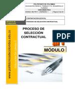 Guia Didactica 1 - Proceso de Seleccion Contractual
