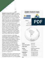 Uruguai - Enciclopédia Livre