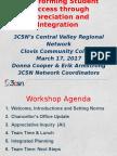 BSSOT Workshop 3.17.2017