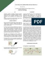 Informe Proyecto Final de Laboratorio de Electronica
