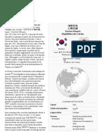 Coreia Do Sul - Enciclopédia Livre