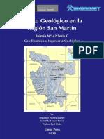 Riesgo Geológico en La Región San Martin 2010