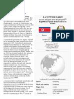 Coreia Do Norte - A Enciclopédia Livre