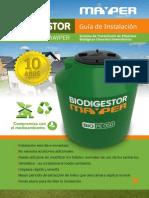 Manual Biodigestor MAYPER