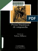 Selena Millares (Ed.) - Prosas hispánicas de vanguardia