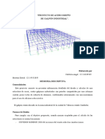 Proyecto de Acero Diseño de Galpon