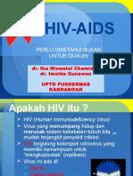 Penyuluhan HIV AIDS puskesmas