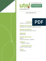 Tarea 5- Analisis y Diseño de Sistemas