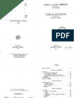 Kuss-Michl.cartas Hebreos y Católicas