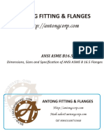 Dimensions, Sizes and Specification of ANSI ASME B 16.5 Flanges.pdf